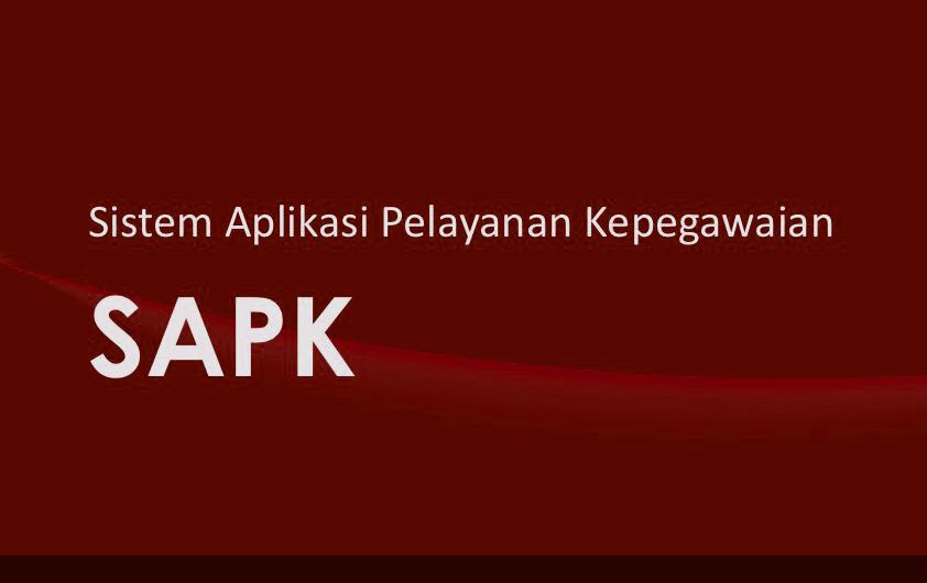 Sistem Aplikasi Pelayanan Kepegawaian (SAPK) – Badan Kepegawaian Negara