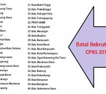 Foto Batal Rekrut 2014