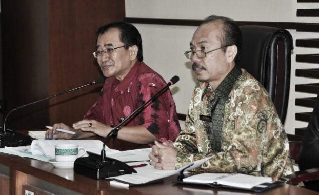 Kasubdit Pengadaan ASN BKN Dwi Wahyudi (batik merah) didampingi
