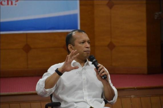 Diakui Handry tantangan yang dihadapi organisasi pemerintah tidak terlepas dengan Mindset SDM Aparatur dan minimnya daya saing. (foto: mia)