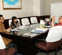 Wawancara di sela-sela penandatanganan SK Pensiun oleh