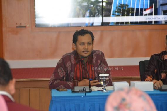 Achmad Aniq menjelaskan bahwa peraturan teknis mengenai P3K. (foto: mia)