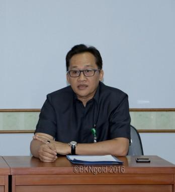 Kepala Biro (Karo)Humas Mahkamah Agung, Agus Zainal Mutaqien. (foto: kis)