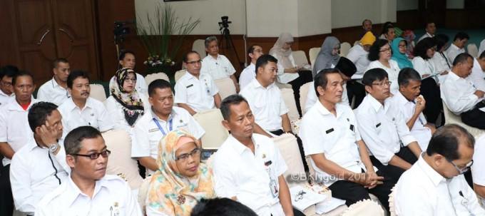 Acara dihadiri oleh rekan-rekan Kementerian/Lembaga (K/L). (foto: kis)