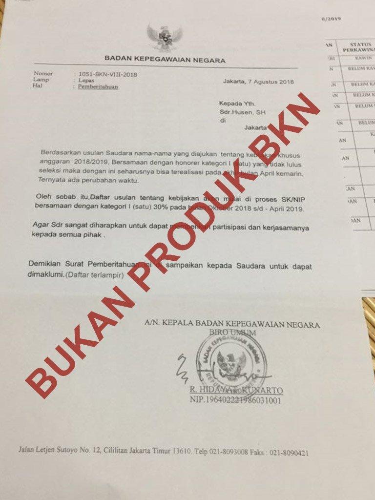 Maraknya Hoaks Rekrutmen Asn Kenali Ciri Berkas Palsu Mengatasnamakan Instansi Bkpsdmd Kota Makassar
