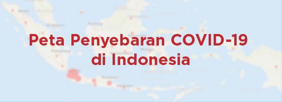 Penyebaran COVID-19 di Indonesia